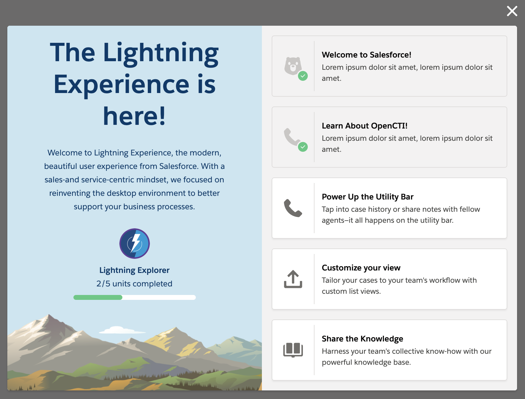 Salesforce Lightning Design System | React